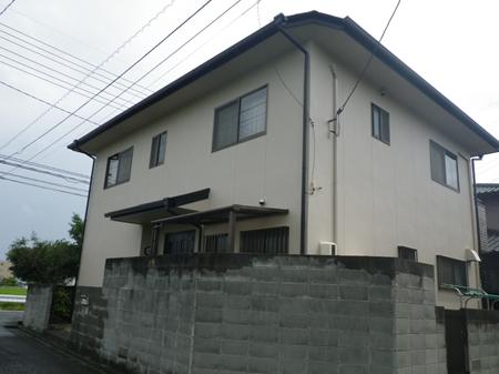 岡山市 I様邸 外壁・屋根塗装事例