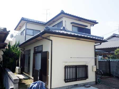 岡山市 S様邸 外壁・屋根塗装事例