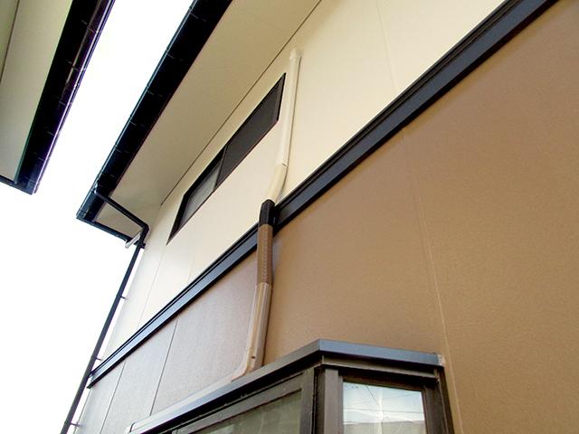 倉敷市玉島 O様邸 外壁塗装及び屋根瓦葺き替え工事施工後