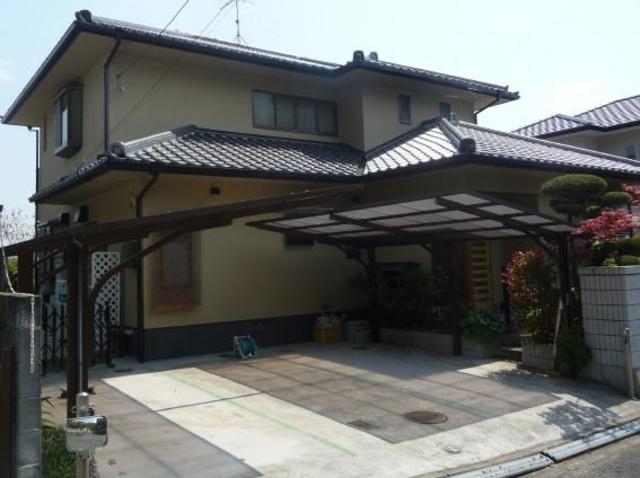 倉敷市庄新町 Y様邸 外壁塗装・屋根漆喰工事例