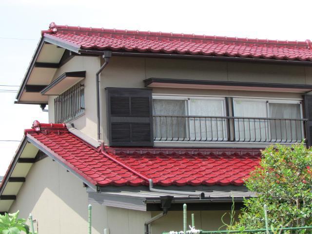 倉敷市西阿知 N様邸 和瓦屋根塗装リフォーム施工事例