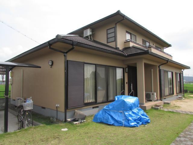岡山市北区撫川 T様邸 外壁塗装施工事例
