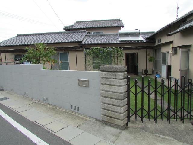 岡山市北区加茂 I様邸 外壁・塀塗装施工事例