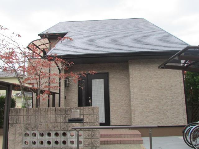 倉敷市西阿知町 O様邸 屋根・外壁塗装工事例