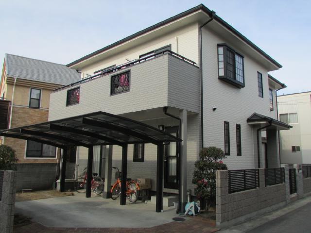 岡山市中区湊 S様邸 屋根・外壁塗装工事例