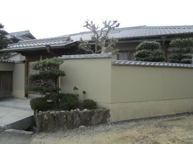 岡山市北区加茂 W様邸 塀・外壁塗装工事例