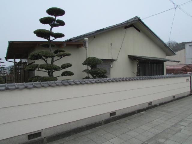 倉敷市二子 O様邸 塗装・玄関リフォーム工事例
