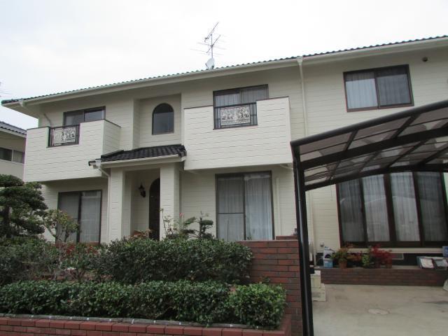 岡山市北区芳賀佐山 H様邸 屋根・外壁塗装工事例