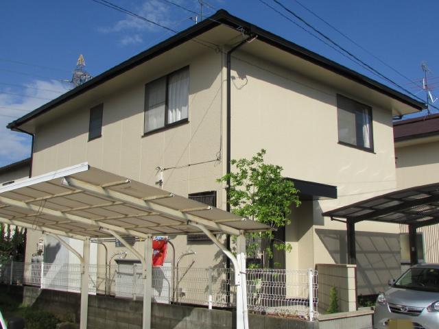岡山市北区庭瀬 A様邸 屋根・外壁塗装工事例