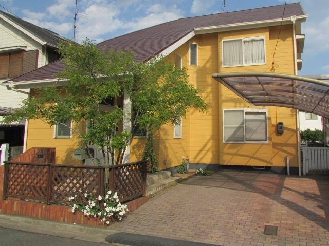 岡山県倉敷市中島 S様邸 屋根・外壁塗装・ベランダサイディング張替え工事例
