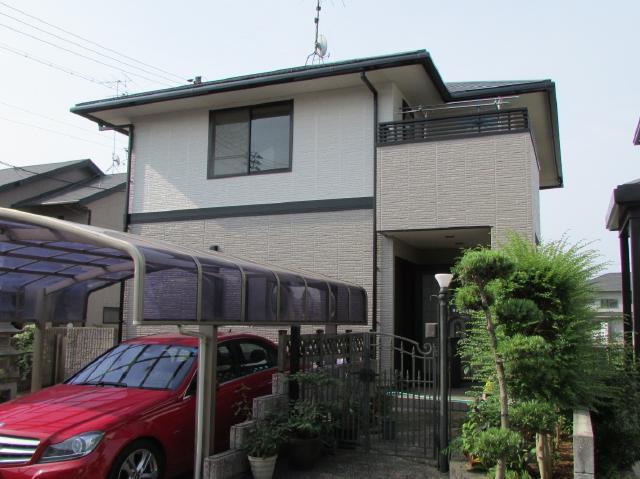 倉敷市帯高 M様邸 屋根・外壁フッ素塗装工事例