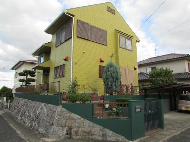 倉敷市西坂 I様邸 屋根・外壁塗装工事例