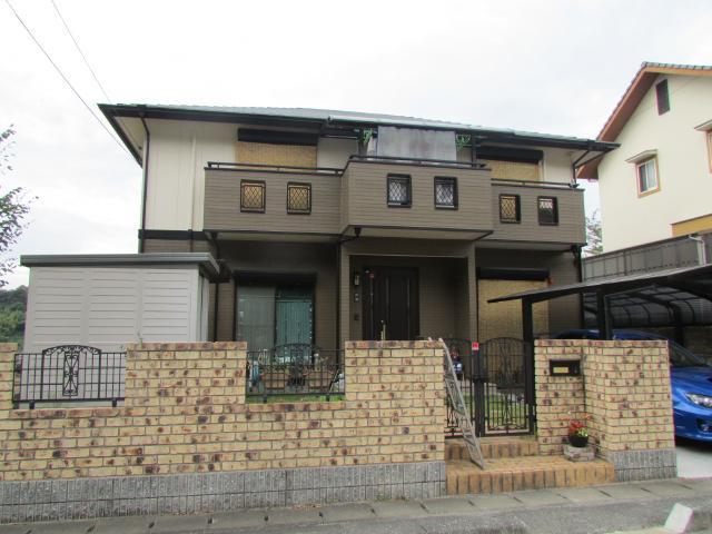 倉敷市加須山 U様邸 屋根・外壁塗装工事例