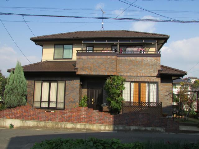 岡山市北区横井上 S様邸 外壁K2コート塗装工事例