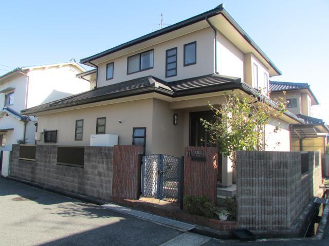 岡山市南区東畦 N様邸 外壁アステック塗装工事例