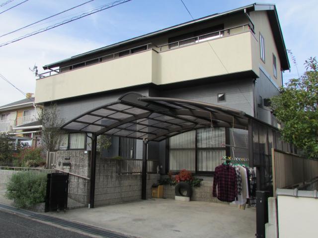 総社市泉 A様邸 屋根・外壁フッ素塗装工事例