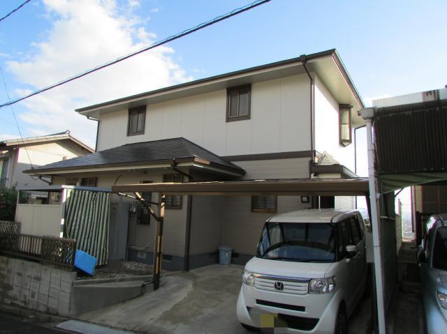 倉敷市中帯江 O様邸 屋根・外壁塗装工事例