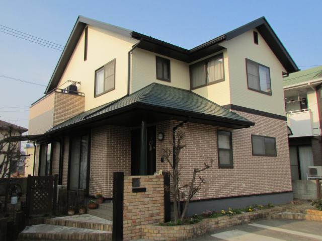 倉敷市中島 K様邸 屋根・外壁塗装工事例