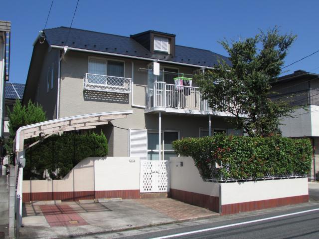 岡山市南区当新田 K様邸 屋根・外壁塗装工事例