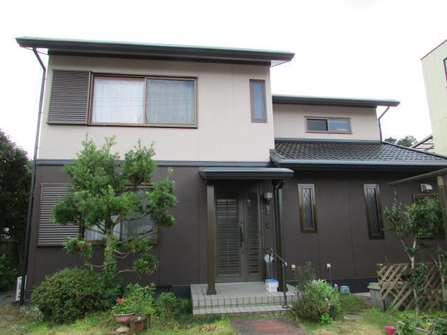 津山市樽 F様邸 屋根・外壁塗装工事例