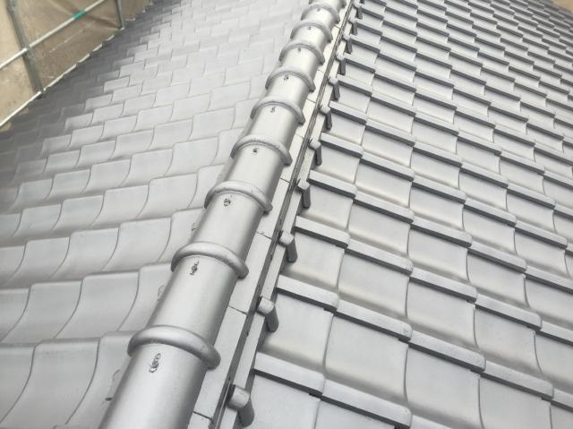 倉敷市連島 K様邸 屋根塗装工事例