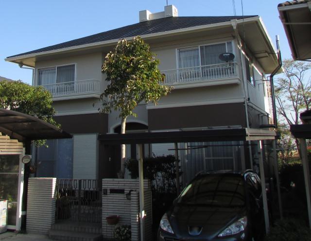 岡山市南区 G様邸 屋根・外壁塗装工事例