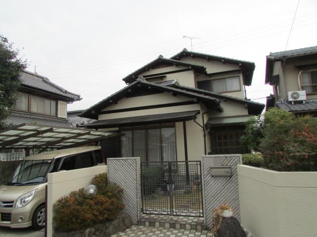 倉敷市連島町鶴新田 N様邸 外壁塗装工事例