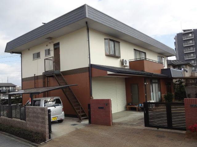 倉敷市西中新田 T様邸 屋根・外壁塗装工事例