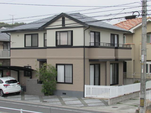 倉敷市福島 I様邸 屋根・外壁塗装工事例