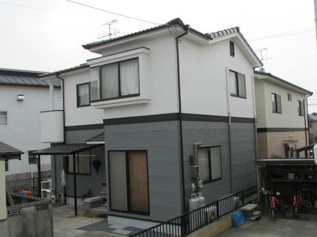 岡山市南区浜野 K様邸 屋根・外壁塗装工事例