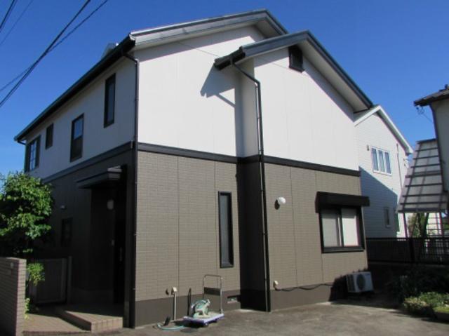 倉敷市上富井 O様邸 外壁塗装工事例