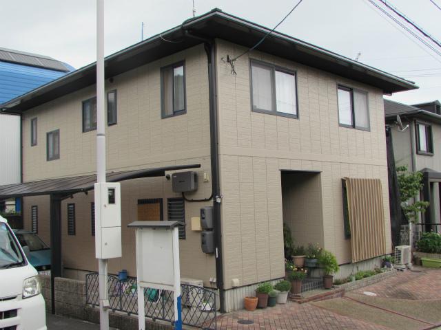 倉敷市生坂 M様邸 外壁塗装工事例