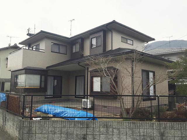 岡山市北区 U様邸 屋根・外壁塗装施工事例