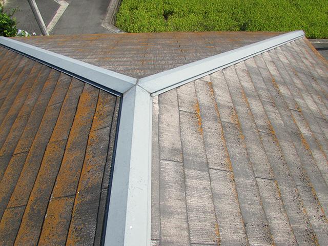 岡山市北区 U様邸 屋根・外壁塗装施工事例・施工前