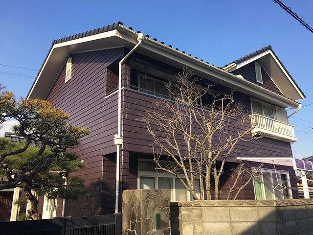 総社市 Y様邸 外壁塗装施工事例