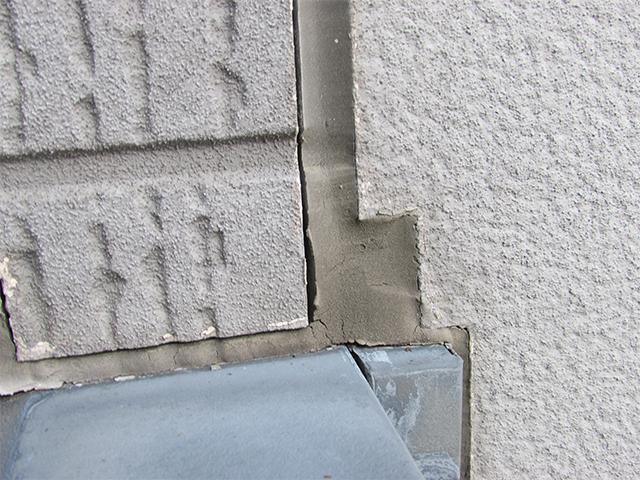 倉敷市上東 T様邸 外壁塗装施工事例施工前