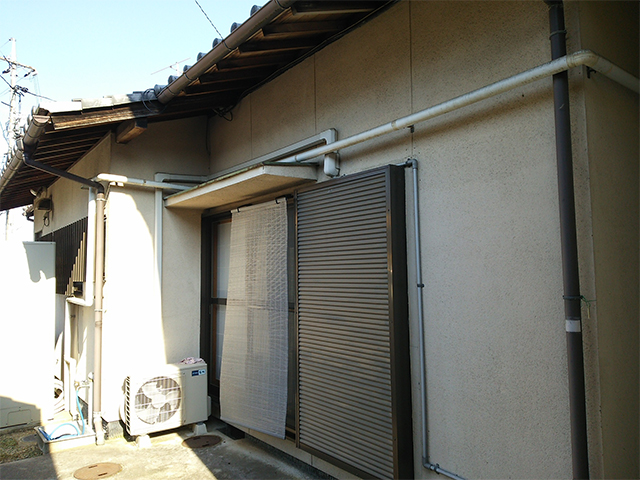 倉敷市 I様邸 屋根・外壁塗装施工事例施工前