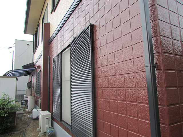 倉敷市下庄 K様邸 屋根外壁塗り替え工事施工後