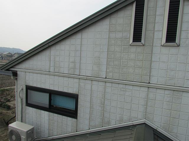 倉敷市下庄 K様邸 屋根外壁塗り替え工事施工前