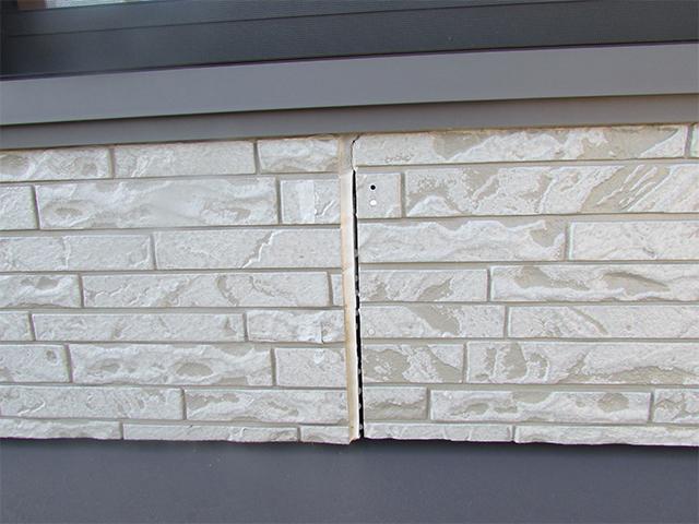 玉野市 M様邸 外壁塗り替え工事施工前