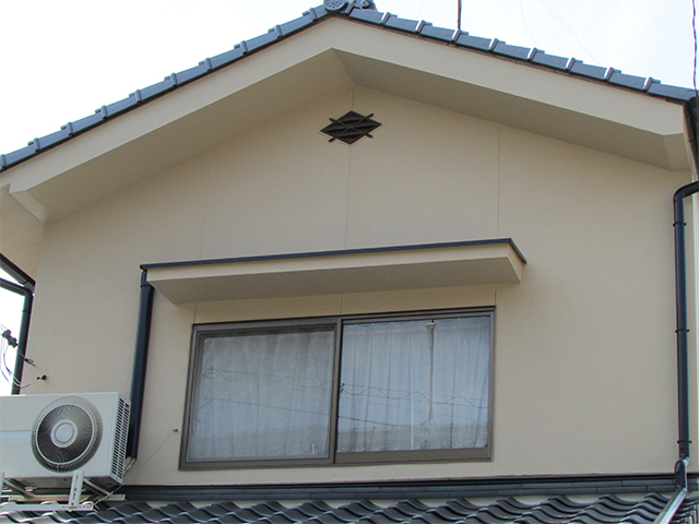 久米郡久米南町 S様邸 外壁塗り替え工事施工後