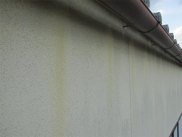 久米郡久米南町 S様邸 外壁塗り替え工事施工前