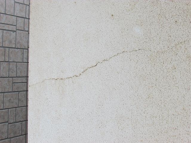 倉敷市亀島 N様邸 外壁塗装施工事例施工前
