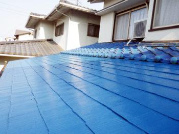 倉敷市 K様邸 屋根塗装事例