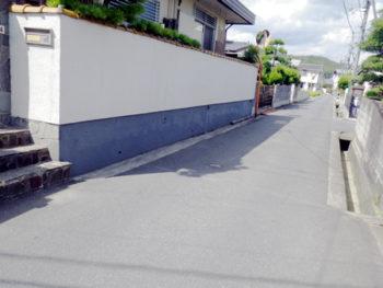 倉敷市 A様邸 門柱塗装事例