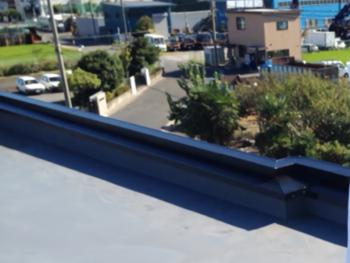 岡山市 A商社様 屋根板金塗装事例