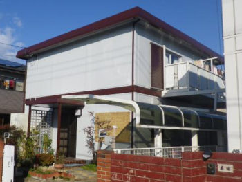 倉敷市 M様邸 外壁・屋根塗装事例