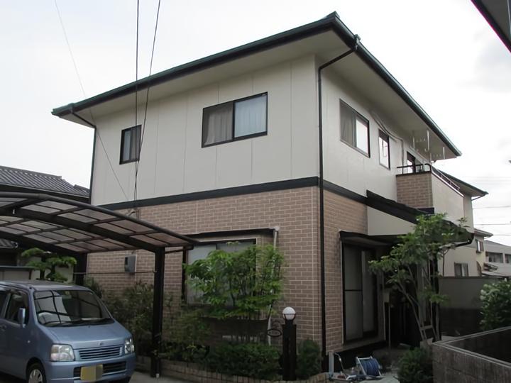倉敷市中畝 A様邸 屋根・外壁塗装工事
