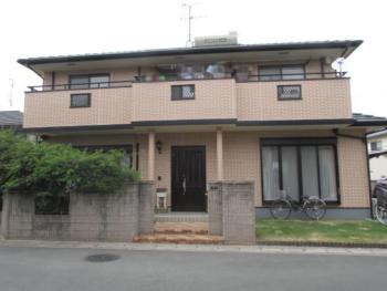 倉敷市水江 O様邸 外壁塗装工事例