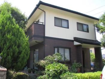 倉敷市東富井 T様邸 外壁塗装工事例
